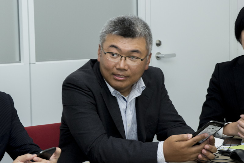 田邊弘樹氏(シャープ IoT通信事業本部 パーソナル通信事業部 システム開発部 課長)