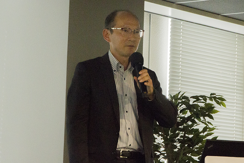NTTドコモ ビジネス基盤推進室 室長 太口努氏