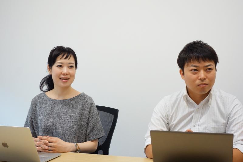 CCCフロンティアの取締役・竹下結夏氏(左)と同営業部シニアマネージャーでハワイ出店を担当する小野寺貴紀氏(右)