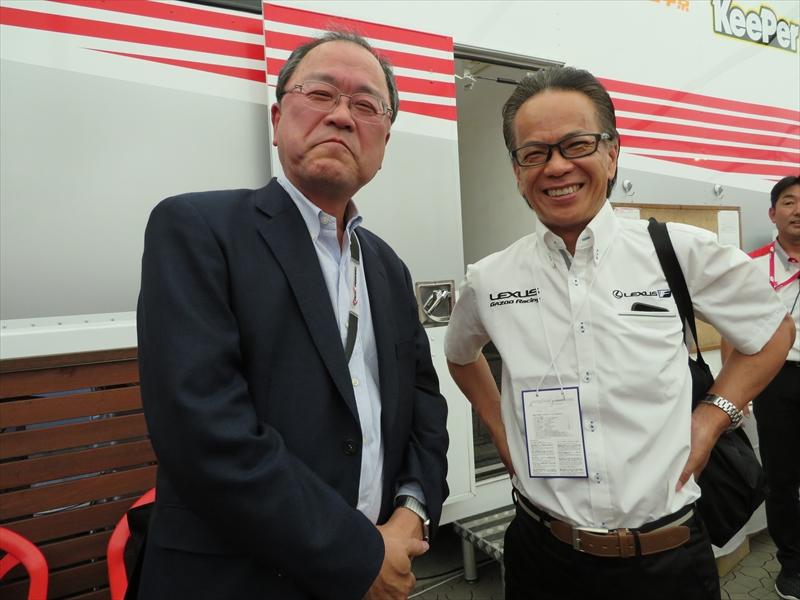 トヨタ自動車 専務役員の友山茂樹氏と