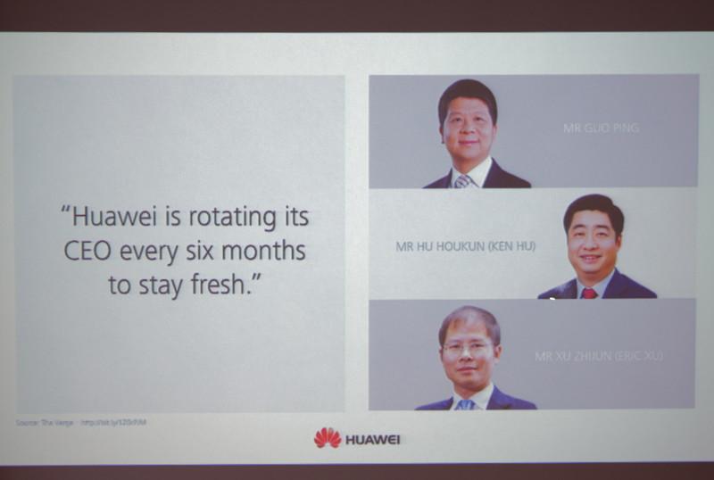 3名が輪番CEOを務める独特の体制