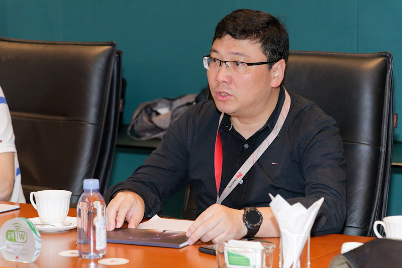 Huawei Technologies COO 万彪(Wan Biao)氏