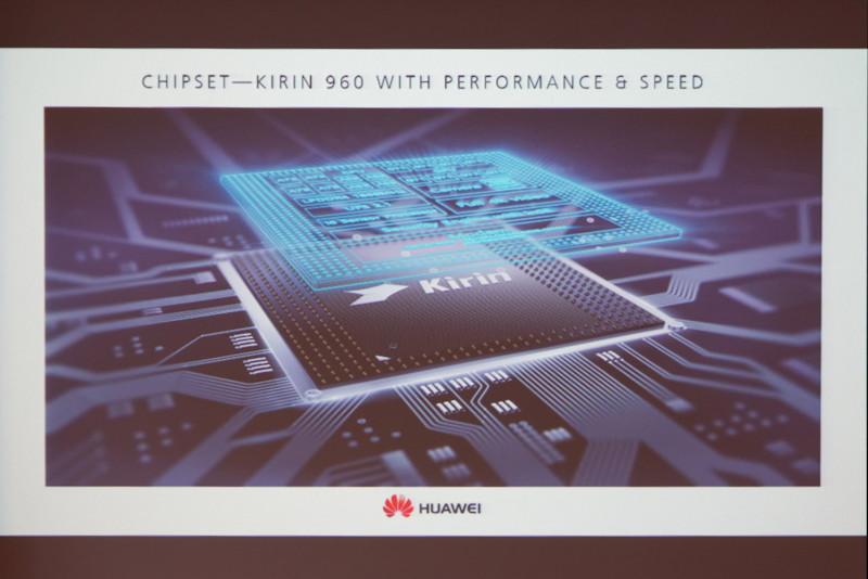 同社製スマートフォンでは子会社のハイシリコンが製造するチップセットKirinを採用。将来的には機械学習に最適化した処理が追加される可能性があるとのこと