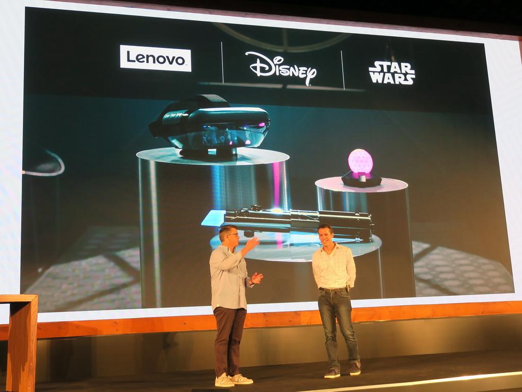 レノボ、Disney、StarWarsのコラボレーションによって創り出された「Star Wars/ジェダイ・チャレンジ」