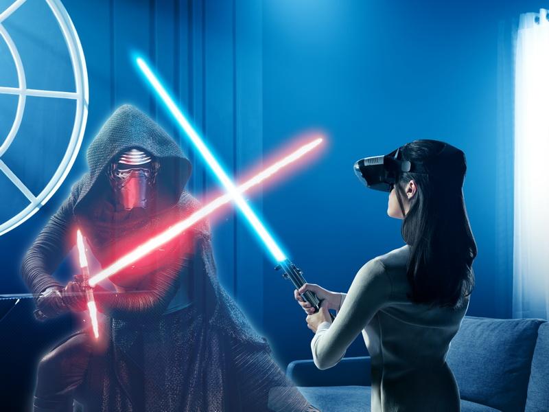 レノボが発表した「Star Wars/ジェダイ・チャレンジ」はスマートフォンの新しいエンターテインメントを提案