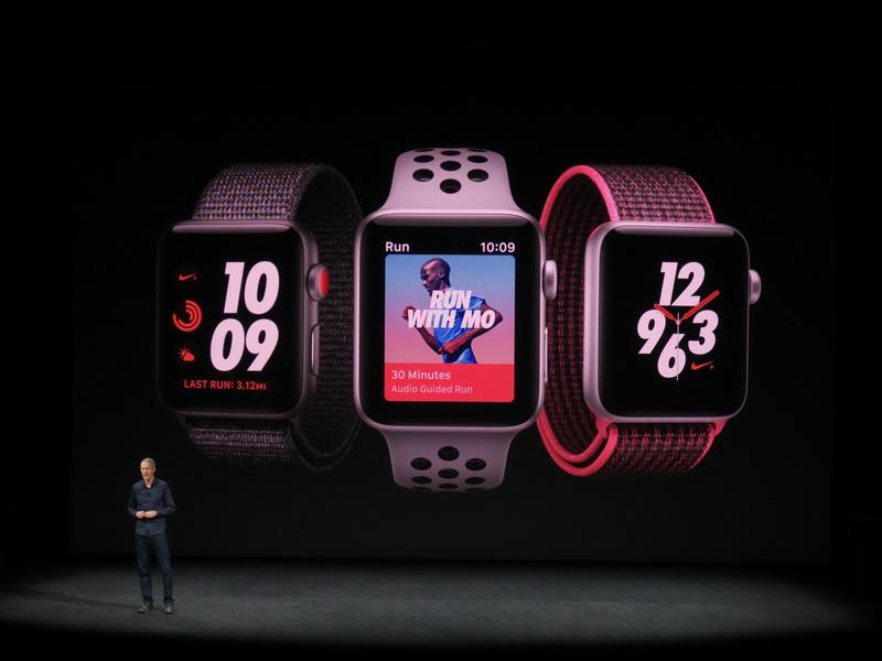 Apple Watch Series 3にも人気のNIKE+モデルがラインアップされる