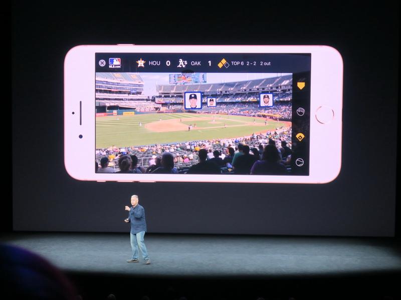 ARの技術をスポーツ観戦に活かし、どこにどの選手が居るのかをポップアップのような形で表示できる