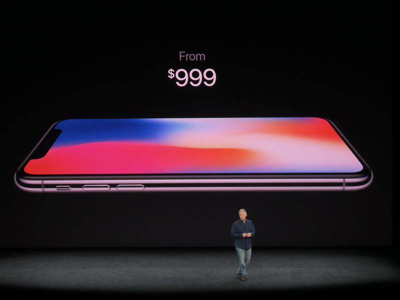 iPhone Xの価格は999ドルから
