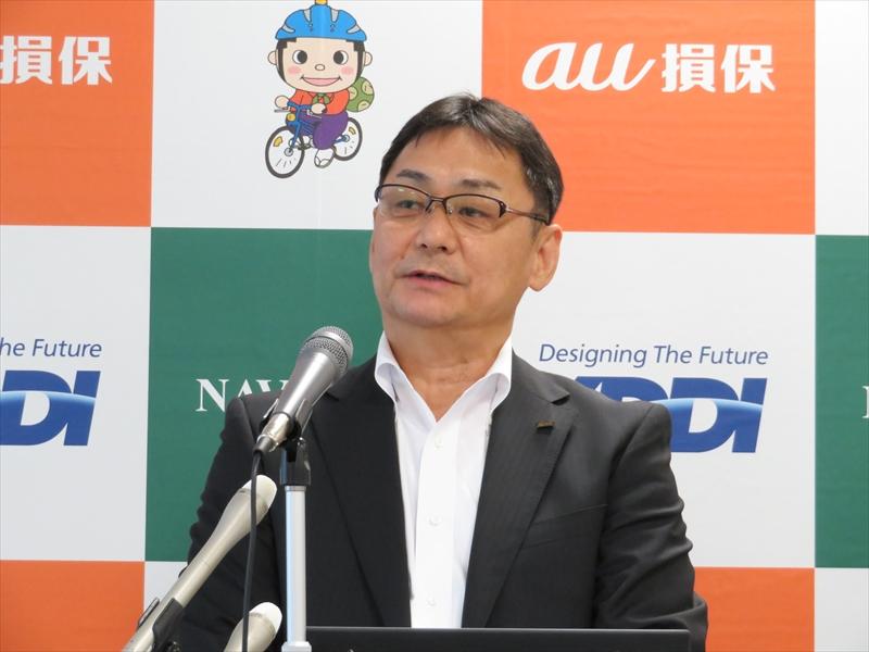 KDDI 中部総支社 総支社長の渡辺道治氏