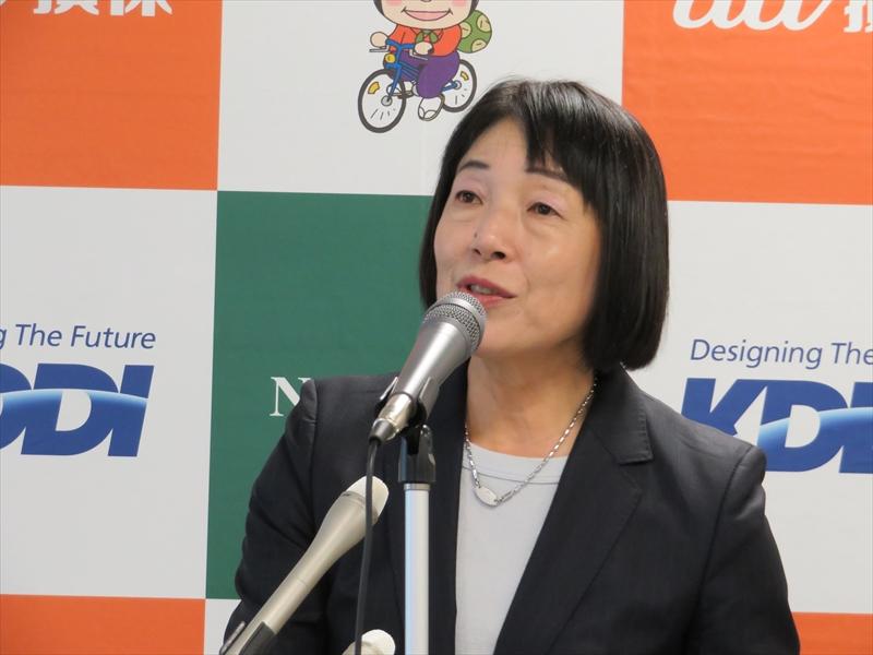 名古屋市市民経済局地域振興部 主幹の小崎文子氏
