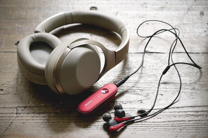 この夏よく使ったヘッドフォン「MDR-1000X」と、イヤホン「MDR-EX31BN」
