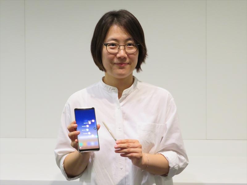 サムスン電子 グローバル商品企画グループ Senior Professionalのソ・ジン(Jin Seo)氏