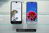 シャープ、進化した3辺狭額縁「AQUOS R compact」発表