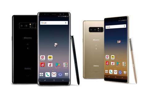 進化したSペンとデュアルカメラ、ドコモから「Galaxy Note8 SC-01K」 「Galaxy Note8 SC-01K」