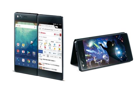 2画面スマホ「M」登場、Androidのマルチウィンドウ機能を活用 「M Z-01K」