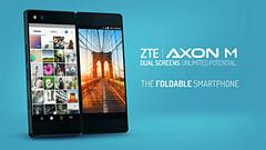 ZTEが2画面スマホ「Axon M」を発表、日本ではドコモが販売 Axon M