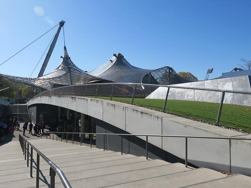 Huawei Mate 10 Global Launchが行なわれたSmall Olympic Hall