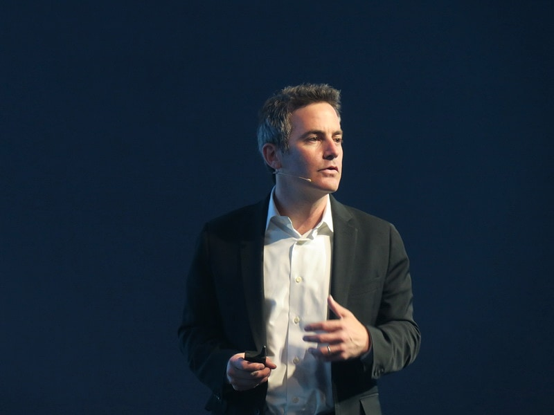 GoogleのAndroid and Google Play担当Vice PresidentのJamie Rosenberg氏も登壇。HUAWEI Mate 10シリーズに搭載されるAndroid 8.0について語った