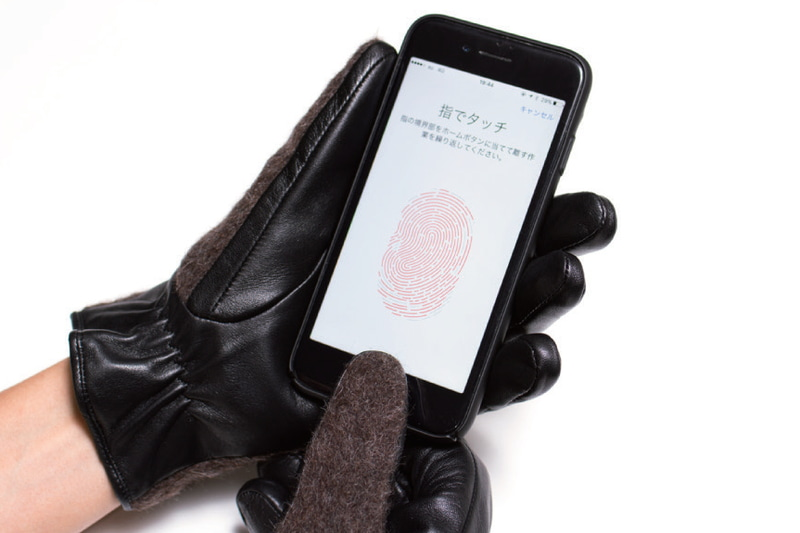 「EVOLG」2017年秋冬「TOUCH ID COMPATIBLE」製品