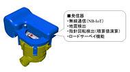「NB-IoT」で水道検針を自動化、愛知時計電機とファーウェイ 光ピックアップ方式水道メーター