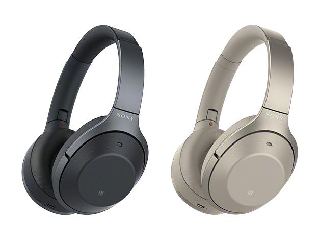 左がハイエンド機に相当する「WH-1000XM2」。中央と右は「WH-1000XM2」の機能や性能をやや押さえたというイメージの「WH-H900N」。「WH-H900N」のカラーバリエーションは新鮮&豊富なので、よりカジュアルにワイヤレスのNCヘッドホンを使いたい人にとって魅力的です。