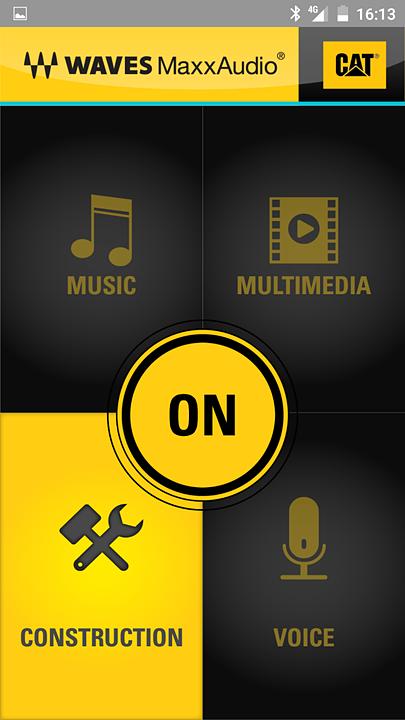 オーディオエフェクトアプリ。大音量化する「建設現場モード」を用意