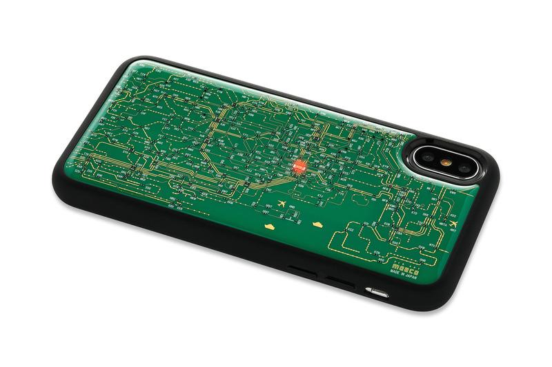 「FLASH 東京回路線図 iPhone Xケース」