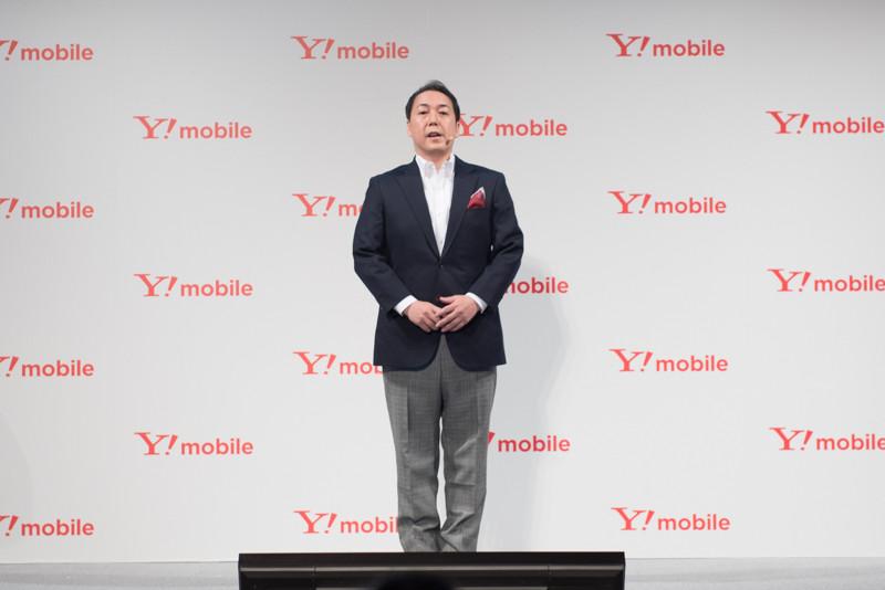ソフトバンク Y!mobile事業推進本部 執行役員本部長の寺尾洋幸氏