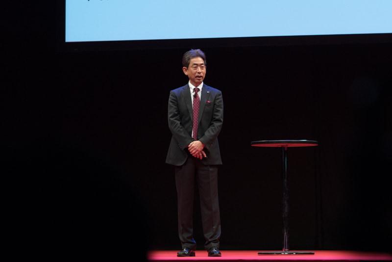 富士通コネクテッドテクノロジーズ 代表取締役社長の高田克美氏