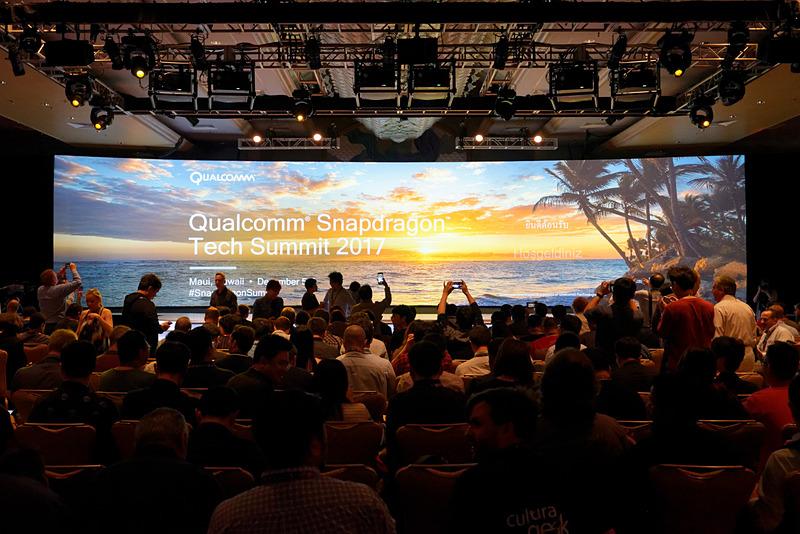 ハワイ州マウイ島のリゾートホテルGrand Waileaで「Qualcomm Snapdragon Technology Summit 2017」が開催中
