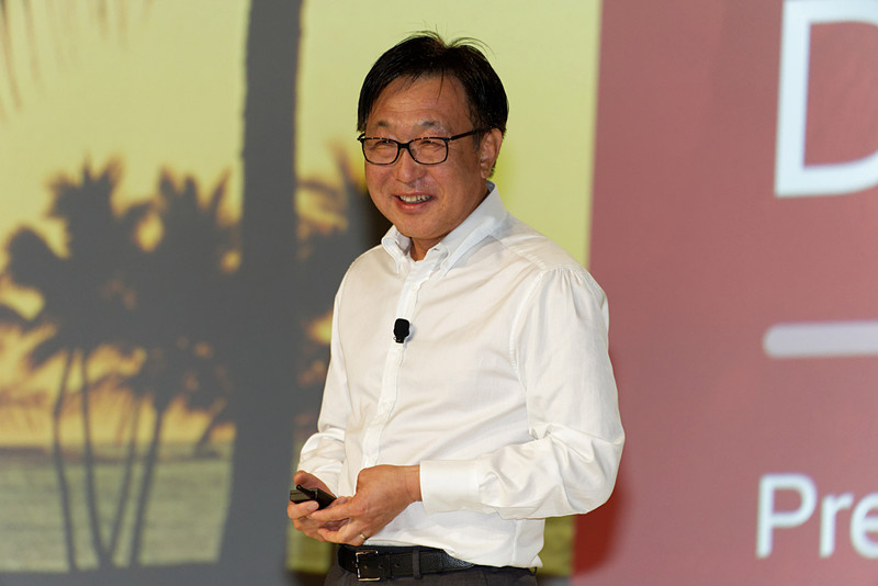 「サムスンの最新技術を結集して」製造にあたると語ったサムスン電子Foundry BusinessのPresident & General ManagerであるES Jung氏