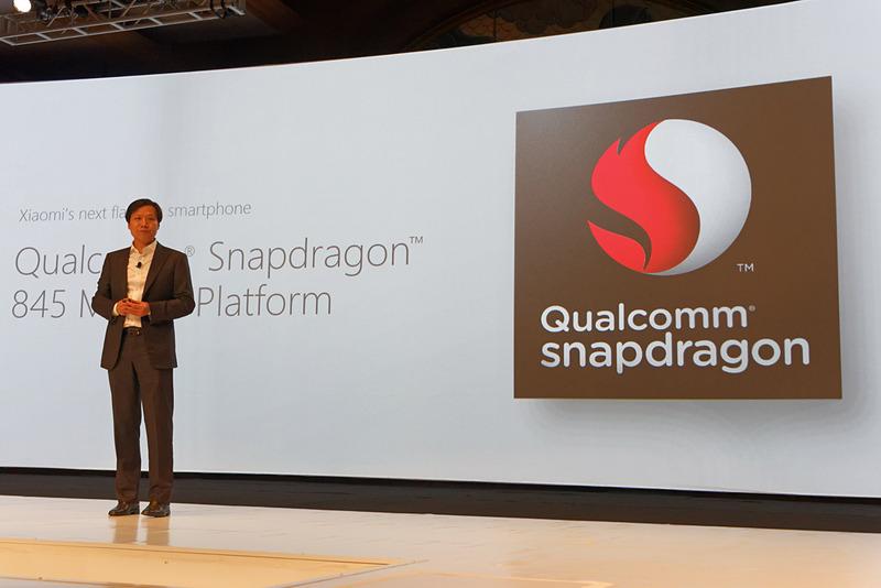 Xiaomi創業者の雷軍氏も登壇。Snapdragon 845搭載スマートフォンの登場を予告した