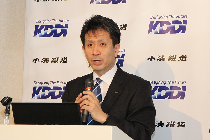 KDDI ビジネスIoT企画部 部長 原田圭吾氏