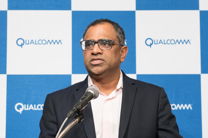 Qualcomm Technologies Senior Vice President, Product Management, IoTのRaj Talluri(ラジ・タルーリ)氏