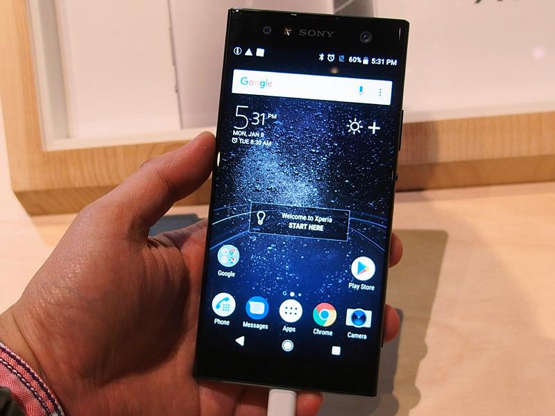 Xperia XA2 Ultraは、6インチディスプレイを搭載する大型のスマートフォン