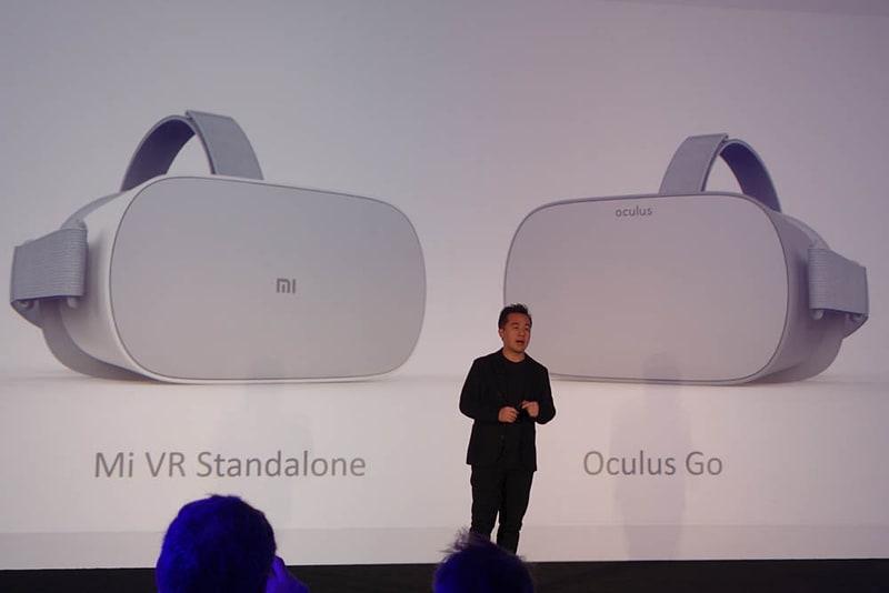 どうみても一緒なOculus GoとMi VR Standalone