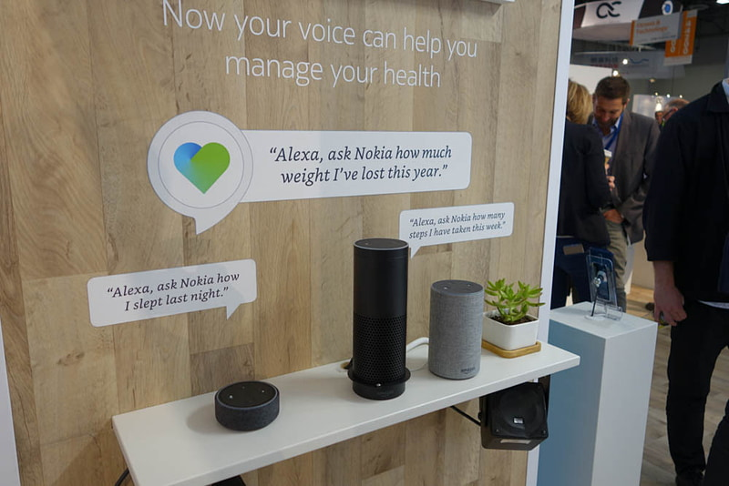 Alexaとも連携する。Alexaがオレの体重を知る時代