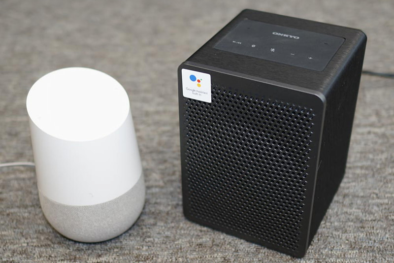 Google Home(左)とG3