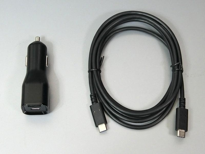 20V/5Aに対応したUSB Type-Cケーブルが標準添付される。これ自体もUSB-IF認証品とのことで、決して安くない品だけに驚かされる