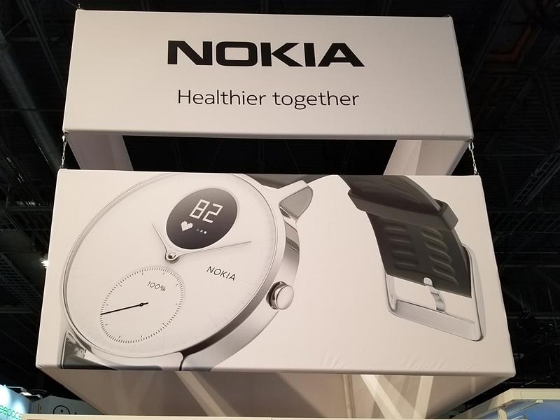 Nokiaの一番の目玉はSteelシリーズのウェアラブルデバイス