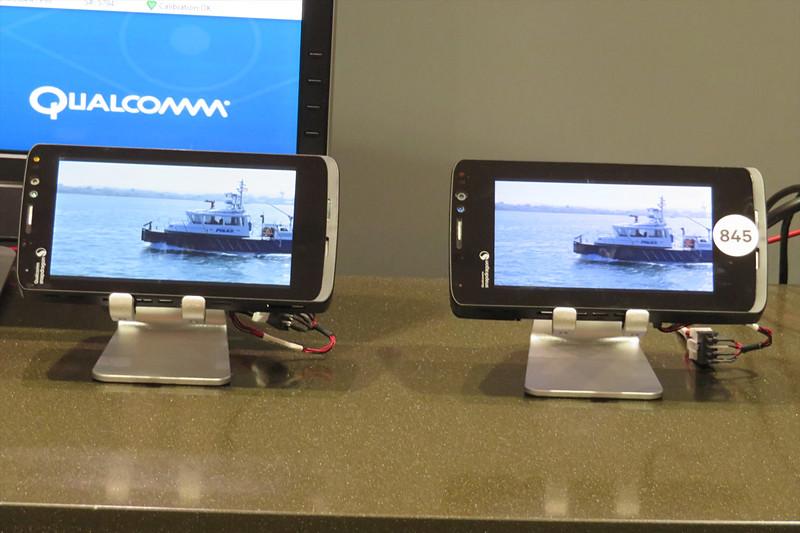 Snapdragon 835とSnapdragon 845で同じ動画を再生