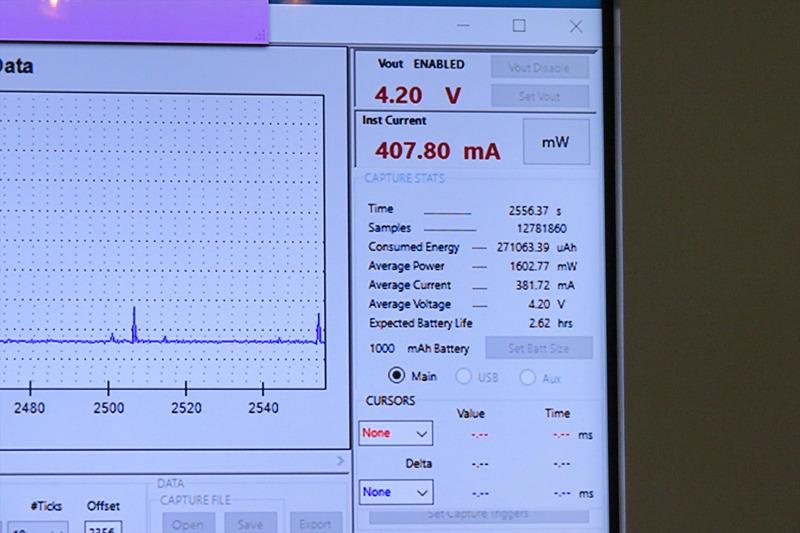 Snapdragon 845の電力消費量