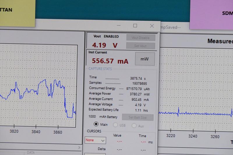 Snapdragon 835の電力消費量