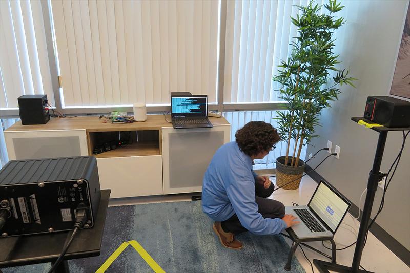 オーディオラボでは家庭環境をシミュレーション