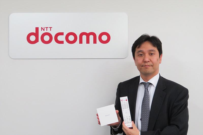 NTTドコモ コンシューマビジネス推進部 デジタルコンテンツサービス担当部長の山脇晋治氏