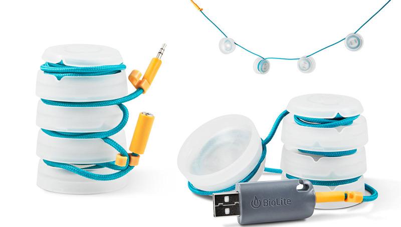 BioLite「SightLight MINI(サイトライト MINI)」。4個1セットのライトで、やはりコンパクトにまとまります。