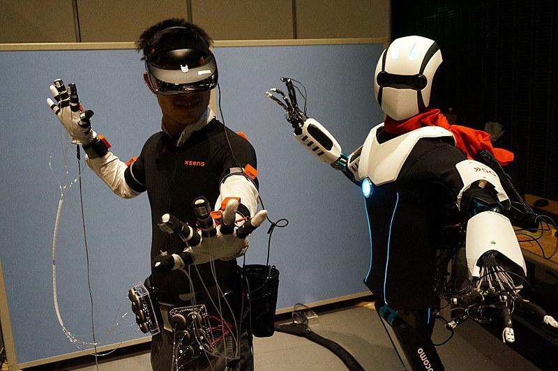 人型ロボット体験