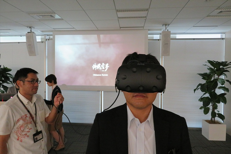 HTC Viveを使用