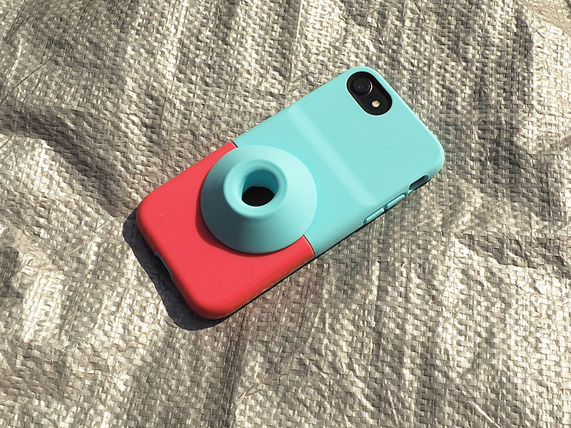 女子高生が考えたというiPhoneケース「Pecotto Speaker Case」