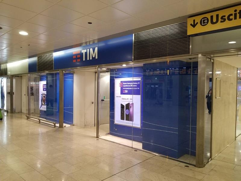 TIMの店は中央駅がSIM完売。時間ロスしてしまった